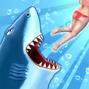 Hungry Shark Evolution Unlimited gold